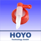 Leinöl Dosierhahn DIN45 Auslaufhahn 23 mm belüftet für 5,10 u. 20 Liter Kanister